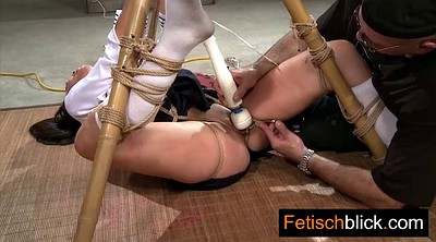 Latex anal, Tied, German bdsm, German latex, Anal skinny, Anal latex
