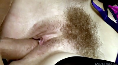Hairy cumshot, Swing, Hairy blonde