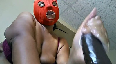 Red, Mistress, Spandex, Mask