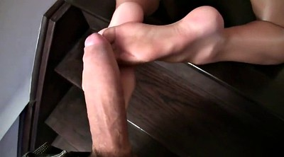Pantyhose, Foot fetish, Pantyhose footjob