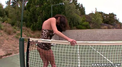 Sport, Tennis, Veronica avluv, Solo outdoor, Pose, Avluv