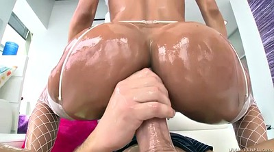 Oiled, Brazil, Ride, Lee, Fat anal