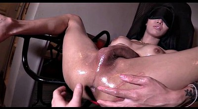 Blindfold, Shemale creampie