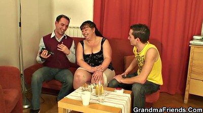Young wife, Wife threesome, Fat