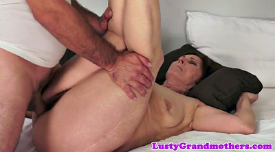 Big granny, Pounding, Pose