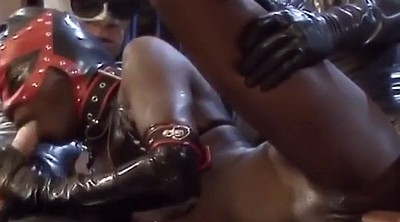 Leather, Anal girl