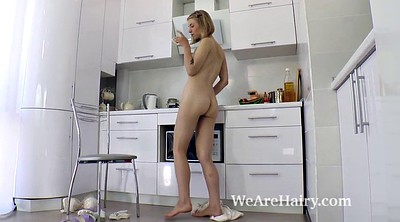 Kitchen, Blonde, Hairy blonde