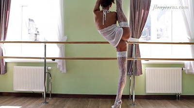 Solo teen, Flexible, Ballerina, Teen stockings