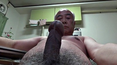 Japanese granny, Asian granny, Naked, Japanese handjob, Gay old man