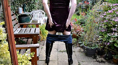 Boots, Gay outdoor, Dressing