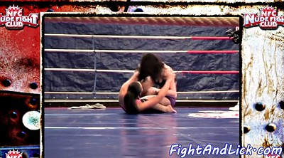 Wrestling, Lesbian fight, Beauty, Wrestle