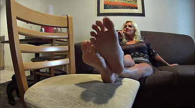 Feet, Feet soles, Sole, Blonde milf
