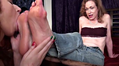 Mature feet, Foot worship, Aunt, Lesbian foot worship, Foot fetish, Sole