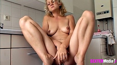 Milf, Nylon, Milf nylon, German masturbation