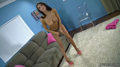 Pantyhose tease, August ames