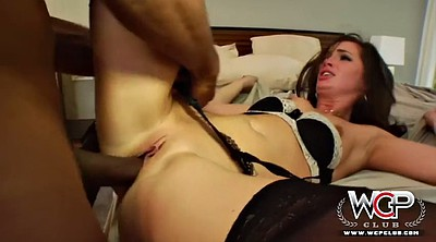 Interracial, Lily carter, Gagged