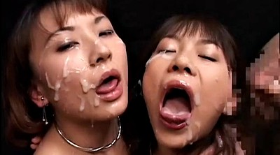 Japanese bukkake, Japanese girl