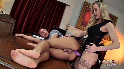 Pegging, Brandi, Blond milf