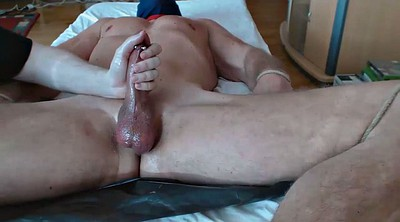 Edging, Hung, Cock milking, Truck, Mate, Gay milking