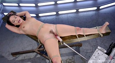 Hairy, Machine, Tied, Sybian, Tied up, Tied orgasm