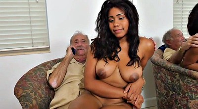 White, Young busty, Old black, Black grandpa