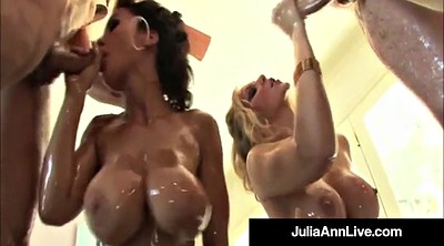 Lisa ann, Julia ann, Mature group