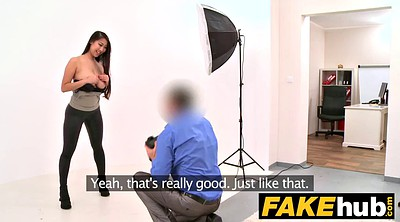 Agent, Fake tits, Fake, Couch, Casting couch, Boobs fuck