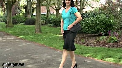 Mature feet, Solo mature, Walk, Mature outdoor, Attractive mature