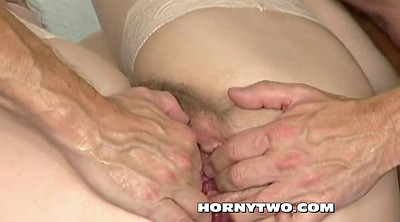 Hairy mature, Granny ass