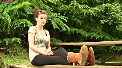 Amy, Shoeplay, Footing, Teen foot