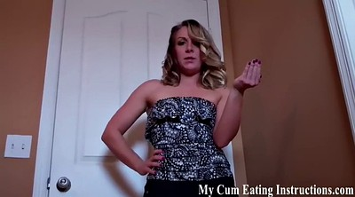 Eating cum