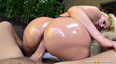 First anal, Oil, Oil anal, Butt, Anal first