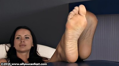 Foot nylon, Nylon feet
