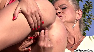 Mom sex, Granny sex, Granny outdoor
