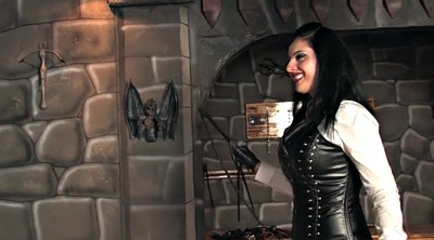 Leather, Whipped, Whipping, Leather mistress