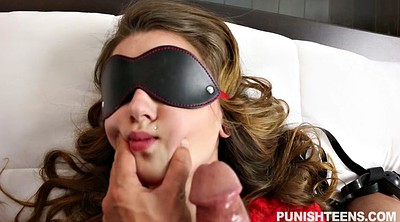 Blindfold, Blindfolded, Face fuck
