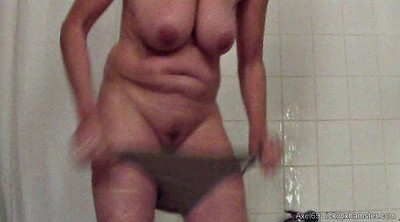 Saggy tits, Saggy, Nipples, Nipple, Hidden shower, Saggy granny