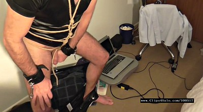 Cbt, Bound, Male, Rope, Gagged