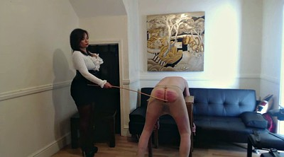 Spanking, Caning, Femdom caning