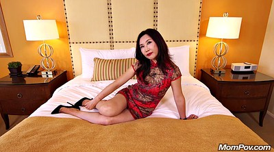 Chinese, Chinese mom, Chinese milf, Hot mom, Pov mom, Riding mom