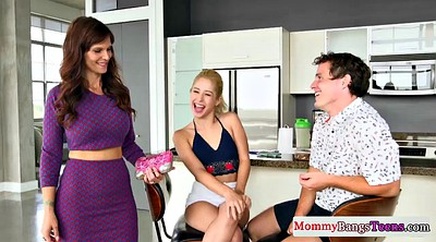 Busty, Mom blowjob, Teen fuck, Redhead mom, Girlfriends mom, Girlfriend mom