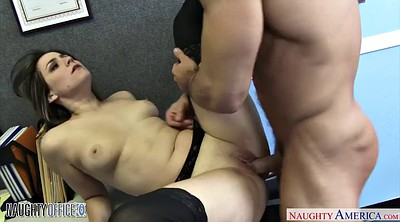 Office, In pantyhose, Fuck