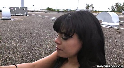Throat, Star, Clothed, Latina milf, Drops
