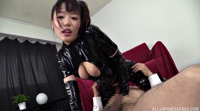 Latex, Rimjob, Ass japanese, Japanese handjob