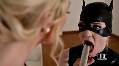 Lesbian, English, Summer, Milf femdom, Kitty