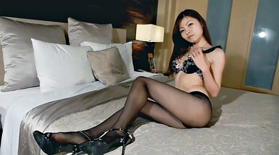 Asian foot, Nylons, Nylon foot, Asian nylon