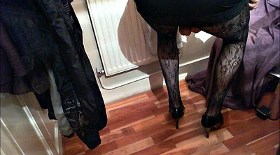 Heels, Cum panties, Cum in panty