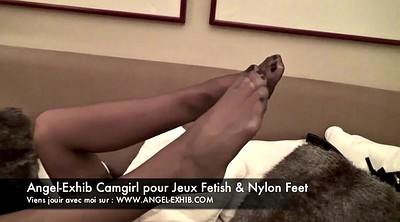 French, Nylon feet, Nylons