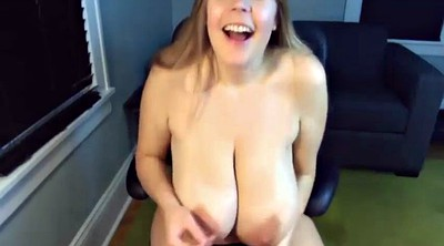 Saggy, Saggy tits, Big natural tits, Mom masturbating, Huge dildo