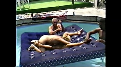 Pool, Black gay, Mature cuckold, Wife fuck, Black group, Gay group